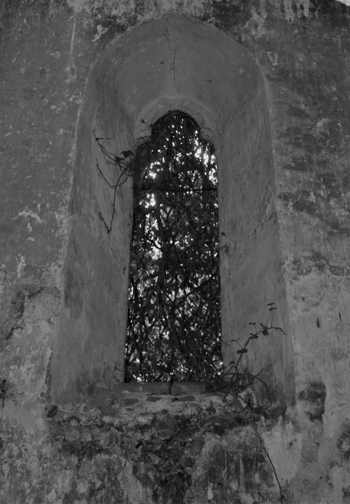 Mortuary chapel window.